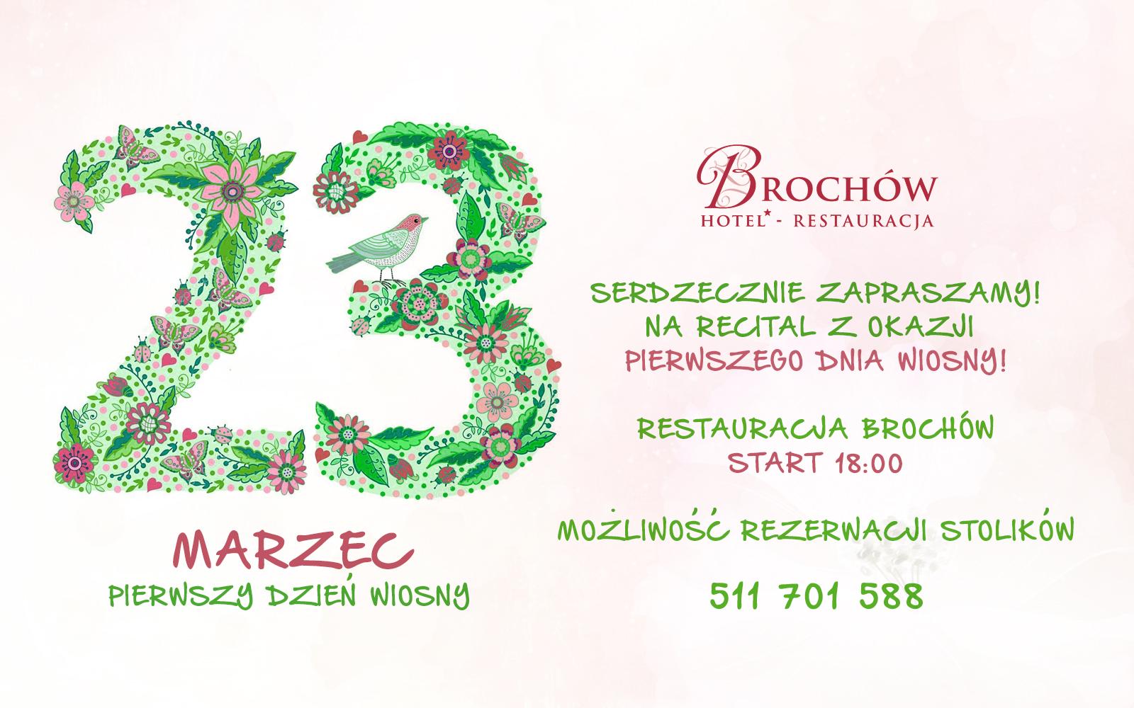 restauracja brochow impreza