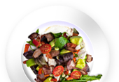 dish course starter tatar small